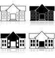 Fancy house vector