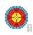 Color target vector