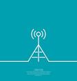 Radio antenna vector