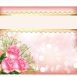 Wedding theme background vector