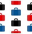 Portfolio symbol seamless pattern vector