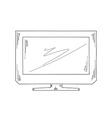Sketch television vector