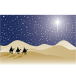 Three wise men vector