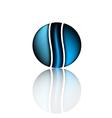 Idea design logo of company technology business vector