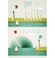 Infographics elements vector