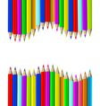 Wooden pencils vector