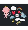 Cupid baby vector