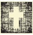Grunge cross vector