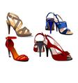 Al 0533 shoes vector