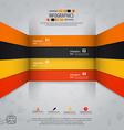 Line infographics 2 vector