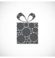Beauty gift background vector