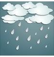 Rainy weather vector