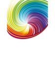 Colorful rainbow disco vector
