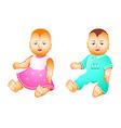 Baby dolls vector