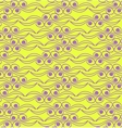 Abstract background pattern in yellow and violet vector