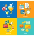Business process concept vector