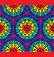 Kaleidoscopic pattern vector