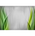 Background two side green vector