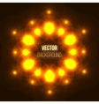 Abstract glowing background with light spots vector