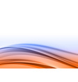 Abstract blue orange back vector