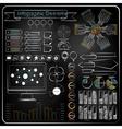 Chalk board doodle web charts vector