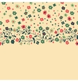 Flowering branches vector