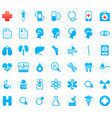 42 medical icons vector