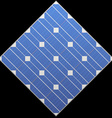 Photovoltaic panel vector