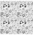 Cinema seamless pattern vector