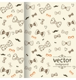 Bow background vector