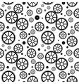Mechanical wheels seamless vector