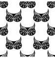 Owl bird seamless pattern vector
