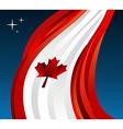Canada flag background vector