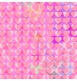 Hearts background 2 vector