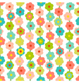 Retro seamless pattern with small flowers vector