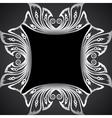Creative classic silver design background vector