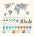 People infographic set vector