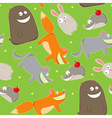Cute wildlife vector
