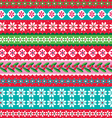 Christmas stripe vector