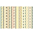 Ethnic tribal decorative seamless background vector