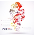 Eps 10 ink abstract background vector