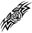 Tiger and symmetric tribals - vector