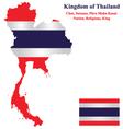 Thailand flag vector