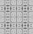 Gray and white pattern seamless on gray background vector