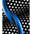 Abstract black and blue background vector
