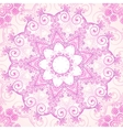 Pink ornate lacy seamless pattern vector