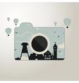 Photo camera vector