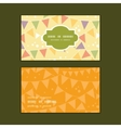 Party decorations bunting horizontal frame pattern vector