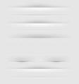 Webpage dividers vector