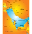 Persian gulf vector